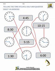 time worksheets class 2 2947 time worksheet o clock quarter and half past