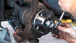 Hub Assembly Wheel Bearing Replacement Chevrolet Cavalier