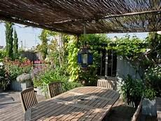 toit terrasse vegetal un toit terrasse verdoyant en plein maison