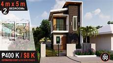 small two story home plans 75 most beautiful 2 storey house design 4 x 5 m 40 sq m house design 6