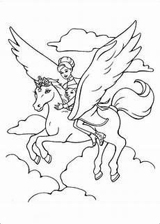 ausmalbilder einhorn mit feen feen unicorn einhorn