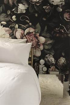 flower wallpaper bedroom my current accent table mirrored cube magic the