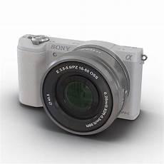 Sony Alpha 5100 3d Sony Alpha 5100 White