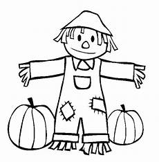 fall scarecrow coloring pages at getcolorings free