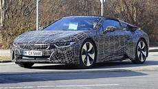 bmw i8 concept spyder 2018 bmw i8 spyder prototypes spied with the top up and