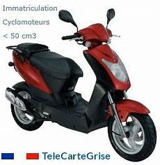 Carte Grise Cyclomoteur De Moins De 50 Cm3