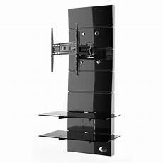 Meliconi Ghost Design 3000 Rotation Noir Meuble Tv