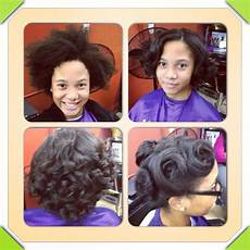 Press And Curl Hairstyles