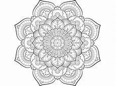 mandala coloring pages at getcolorings free