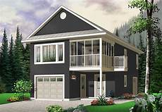 efficient garage with guest house above