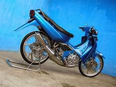 Modifikasi Shogun Kebo by Modifikasi Motor Suzuki Shogun Kebo Thecitycyclist