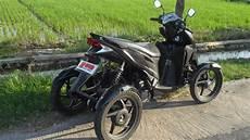 Modif Motor Roda 3 by Koleksi 61 Modifikasi Motor Roda Tiga Terupdate