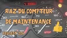 tutoriel 206 06 raz compteur de maintenance peugeot