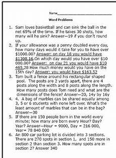 practice your math skills with these 7th grade worksheets stuff to buy math word problems