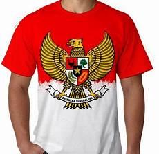 kaos indonesia hitam sablon gold baju distro online lambang timnas garuda indonesia smart4k