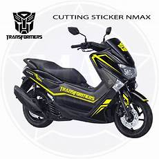 Modifikasi Stiker Nmax by 56 Modifikasi Stiker Motor Nmax Modifikasi Yamah Nmax