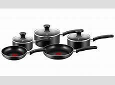 Tefal Essential 5 Piece Non Stick Cookware Pan Set   Home