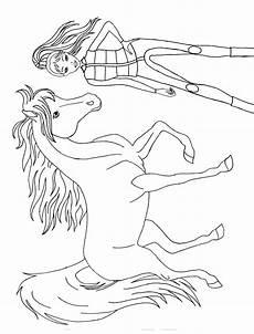 Malvorlagen Pferd Mit Reiterin Reiterin Mit Pferd Ausmalen Ausmalbilder Und Reiten