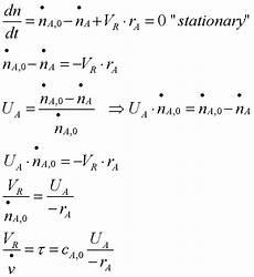 chemische reaktionstechnik begriffe und grundlagen 3