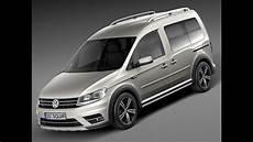 3d Model Volkswagen Caddy Alltrack 2016 Cgriver