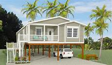 stilt house plans florida exterior rendering of jacobsen home model tnr 6481b raised