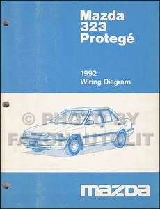 car service manuals pdf 1992 mazda 323 instrument cluster 1992 mazda 323 and protege wiring diagram manual original