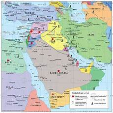 the middle east c 1960
