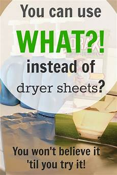 save money with this alternative to dryer sheets