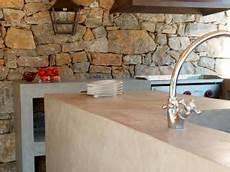 bar en béton ciré des cuisines en b 233 ton cir 233 pr 232 s de nimes rev 234 tement sol