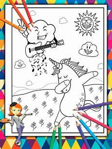 Unicorn Malvorlagen Mp3 For The Happy Unicorn Unicorn Coloring Book For