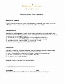 23 printable informed consent form counseling templates fillable sles in pdf word to