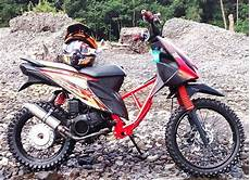 Honda Beat Modif Trail by Modifikasi Honda Beat Jadi Trail
