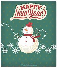 cute happy new year card messages wishesquotes