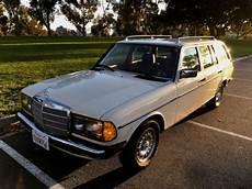 1985 w123 mercedes 300tdt 300td wagon for sale