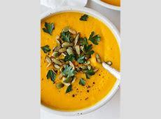 creamy pumpkin  and butternut squash soup_image