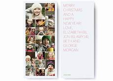 merry christmas collage holiday photo card pinholepress com