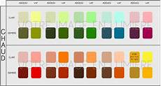 peinture couleur chaud nuancier couleurs simplifi 233 chaud votre image en lum