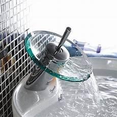 rubinetto monocomando miscelatore rubinetto monocomando cromato e in vetro a cascata