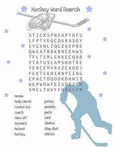hockey word search for kids summer table time pinterest kid for kids and search