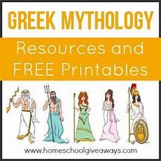greek mythology resources and free printables homeschool