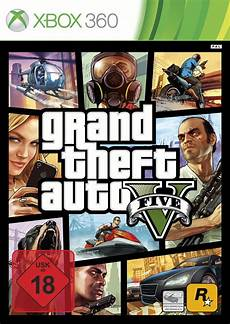 grand theft auto v gta 5 five usk 18 xbox 360 spiel