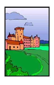 Malvorlagen Landschaften Gratis Burg Landschaft Ausmalbild Malvorlage Landschaften