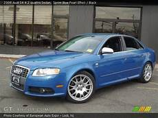 2006 audi s4 sedan sprint blue pearl effect 2006 audi s4 4 2 quattro sedan black interior gtcarlot com