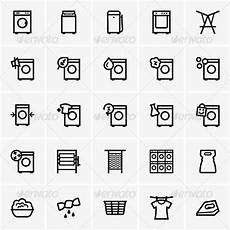 trockner zeichen bedeutung laundry icons by barbulat graphicriver