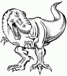 dinosaur t rex coloring pages coloring home