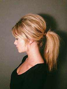 60s brigitte bardot inspired ponytail tutorial