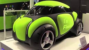 Futuristic Concept Cars From The Tokyo Motor Show