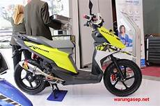 Modifikasi Suzuki Address by Ragam Modifikasi Suzuki Nex Ii Dan Address Di Imos 2018