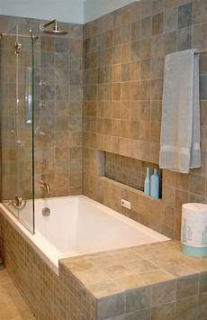 Bathroom Ideas No Tub by Shower Tub Combo With Shoo Ledge And Small Side Lip No