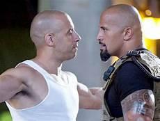 Vin Diesel Dwayne Johnson Their Fast Furious Feuding
